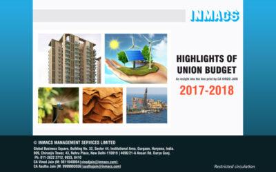 Highlights of Union Budget 2017-2018