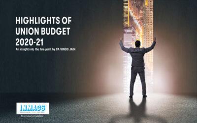Highlights of Union Budget 2020-2021